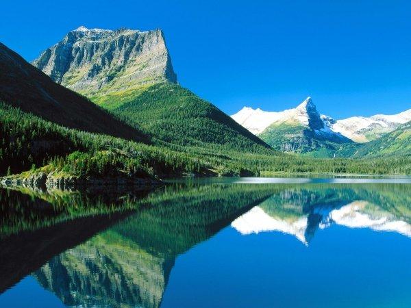 Kintla Lake Campground, Glacier National Park, Montana