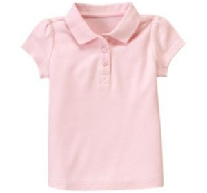 Gymboree uniform pique polo shirt 7 cute polo shirts for for Cute polo shirts for women