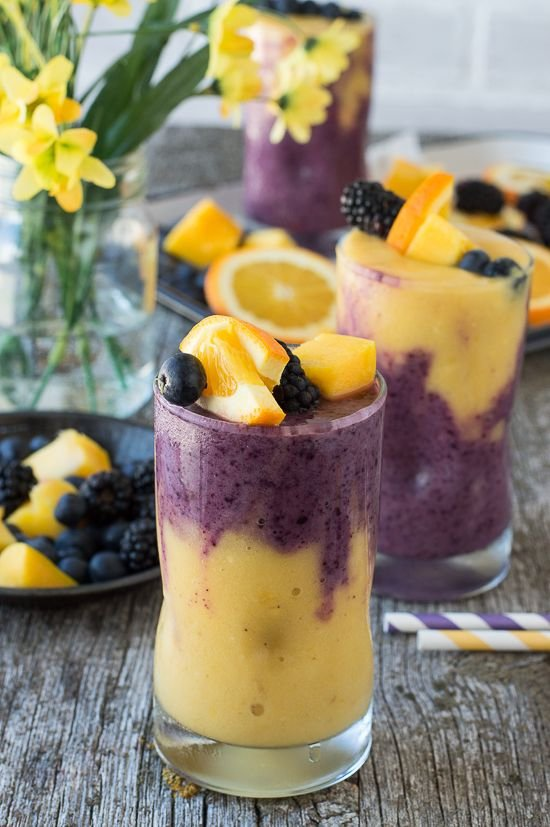 Hawaiian Berry Smoothie