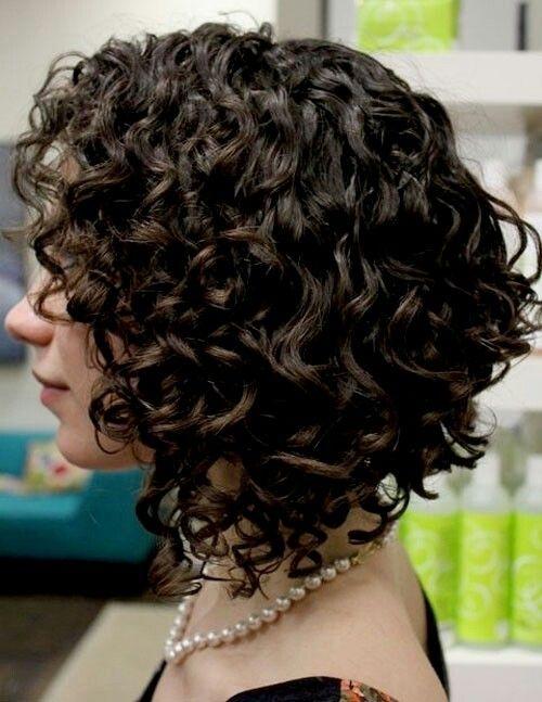 Как сделать каре на вьющиеся волосы
