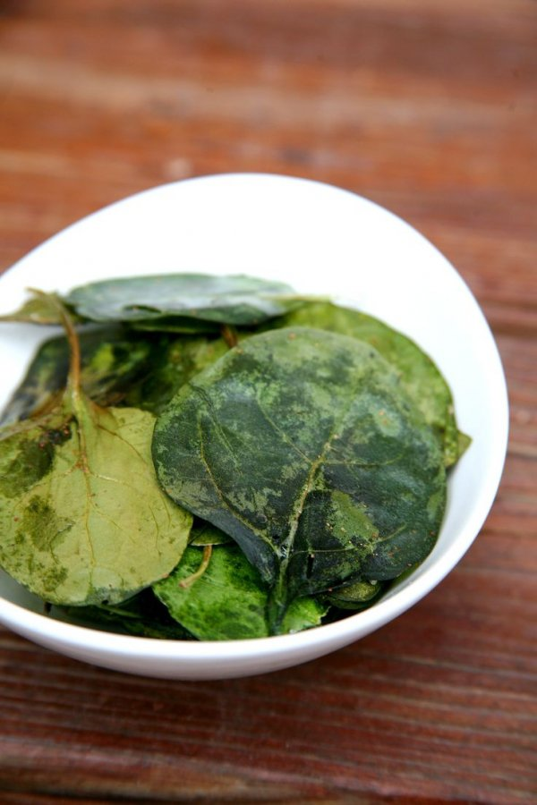 Spinach With Garlic Chips Recipes — Dishmaps