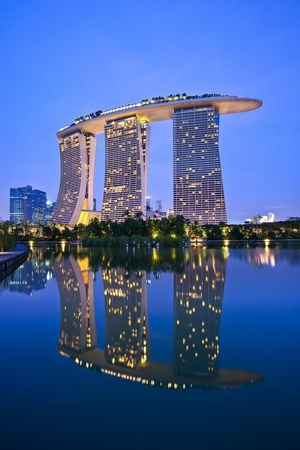 Marina Bay Sands in Singapore (a Different Angle than #16)