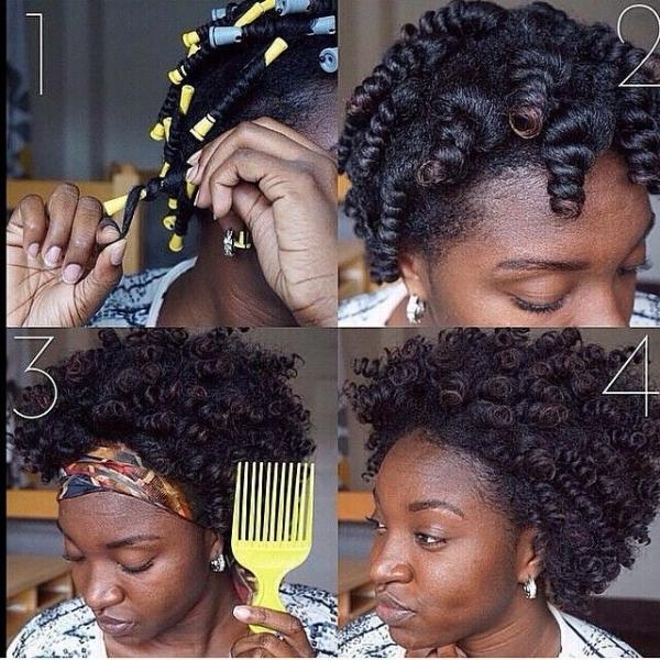39. Small Perm Rod Transformation - 67 Crushworthy Natural Hair Ideas ...