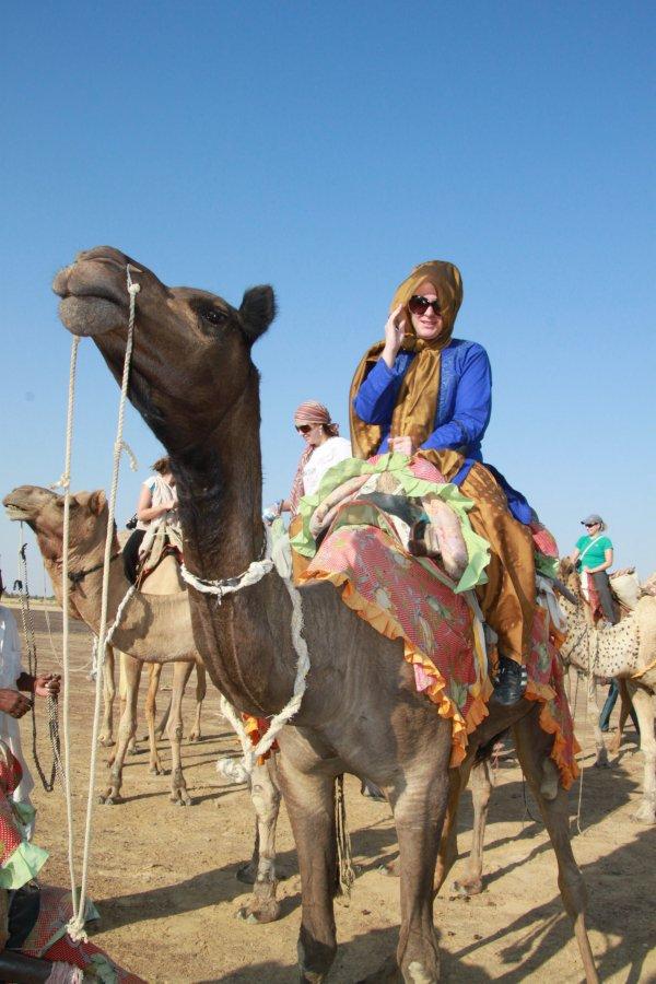 Join a Camel Safari in Rajasthan, India