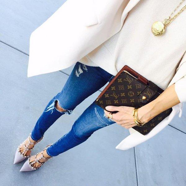clothing, blue, footwear, fashion accessory, spring,
