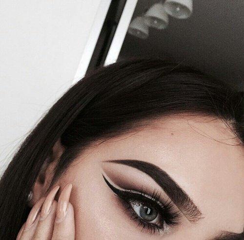 eyebrow, face, black, eye, eyelash,