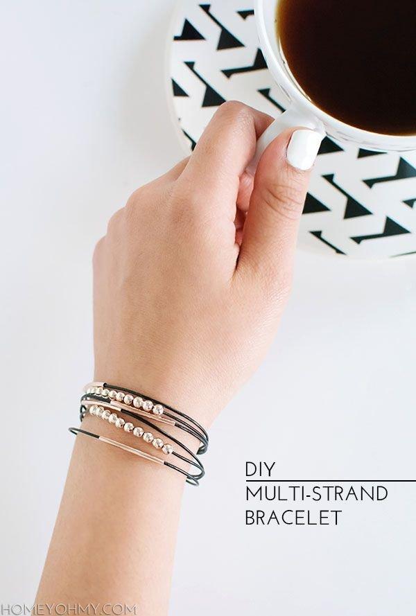 A Simple Multi-strand Bracelet