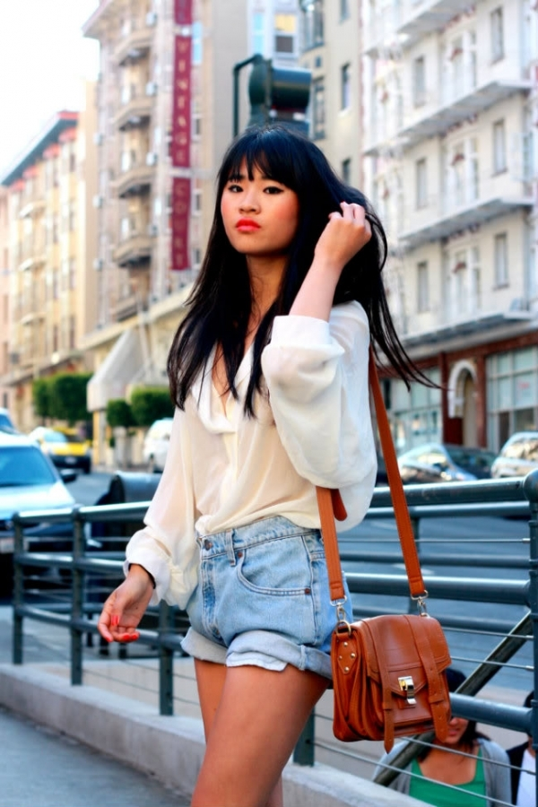 7 Ways to Wear High Waist Denim Shorts like a Diva ... …