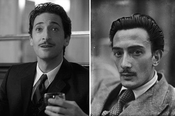 Adrien Brody as Salvador Dali