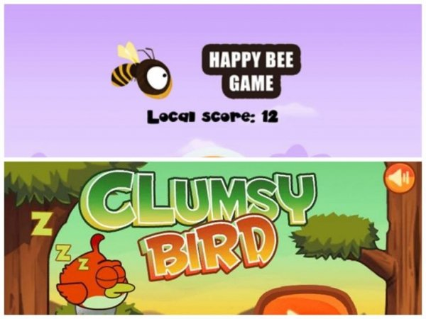 Flappy Bee/ Clumsy Bird …