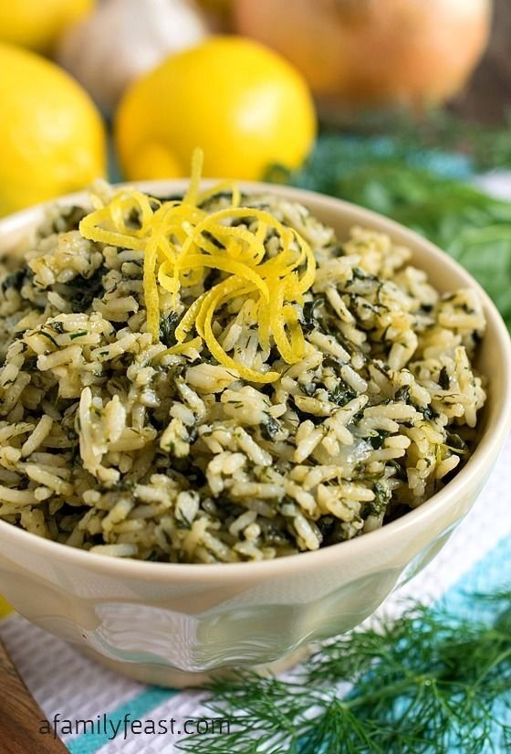 Spanakorizo – Rice with Spinach