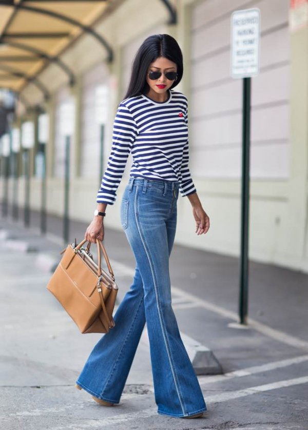 Let's Bring the 70s Back! Here Are 25 Ways to Wear Flared Jeans ... …