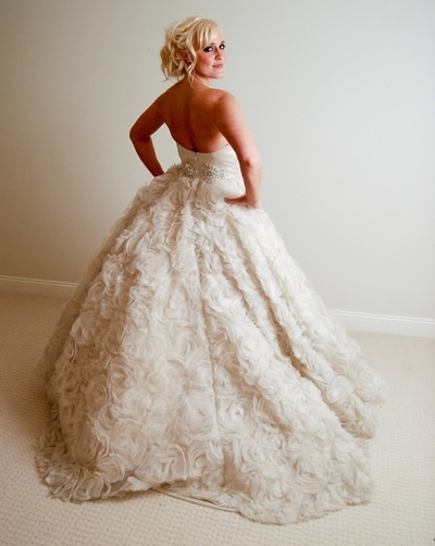 Ariel J. Taub Rose Gown