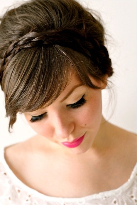 Peachy 4 Braid Headband 7 Easy Hairstyles For College When You39Re In A Short Hairstyles For Black Women Fulllsitofus