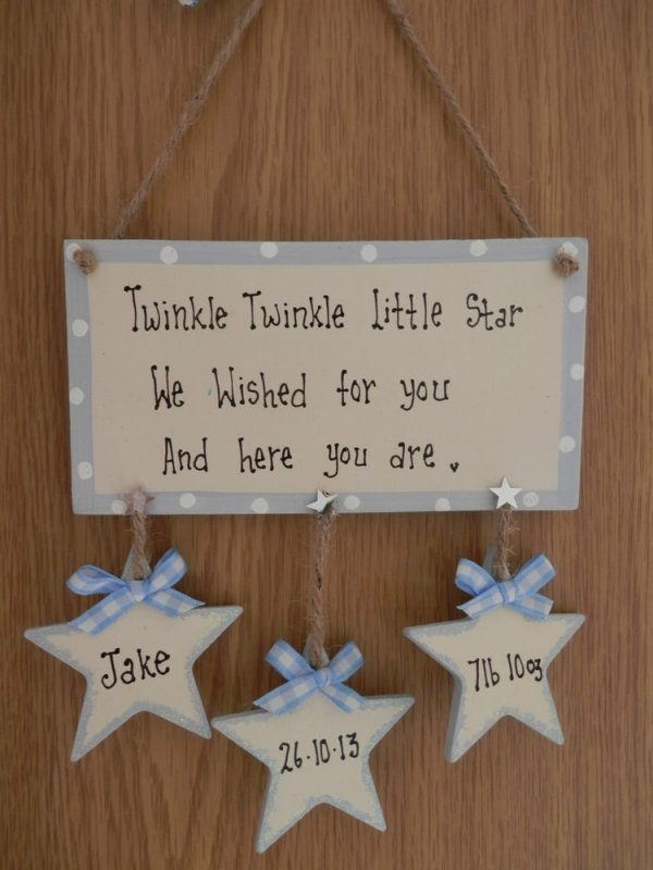 gift plaque   31 ideas of all sorts for christening gifts