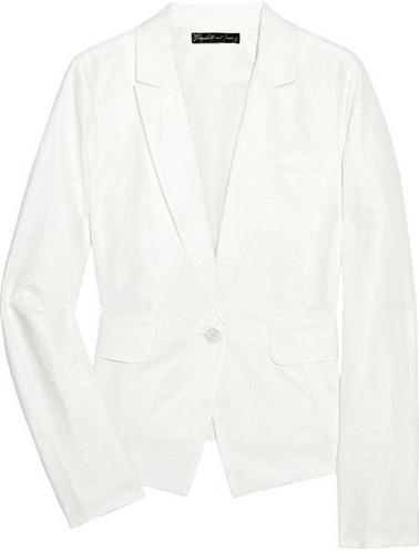Elizabeth and James Emery Linen and Cotton Blend-Blazer