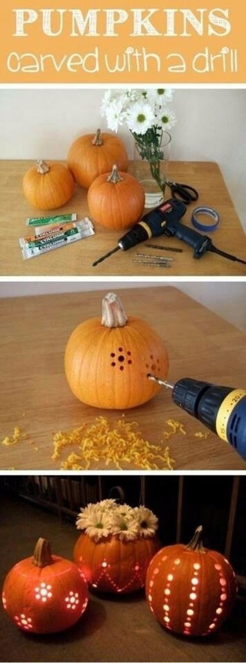 Drilled Pumpkin