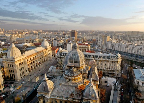 Historians Head to Bucharest, Romania