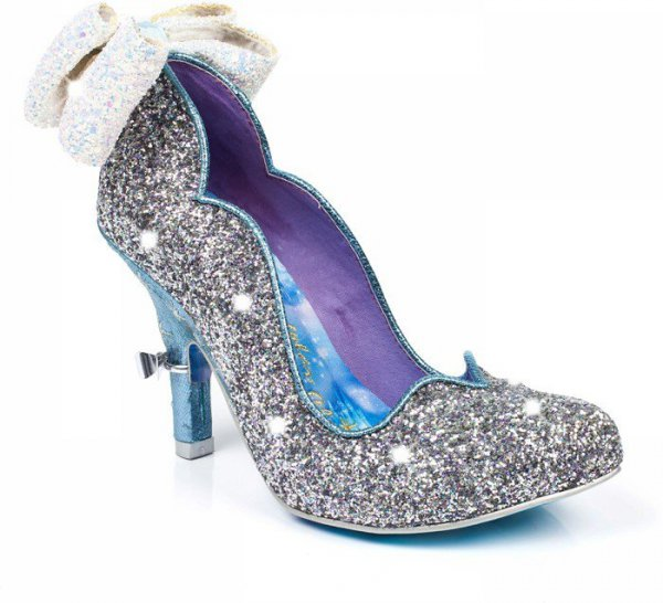 footwear, high heeled footwear, blue, purple, shoe,