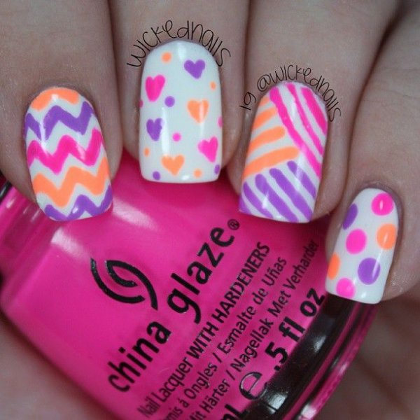 China Glaze,color,nail,pink,finger,