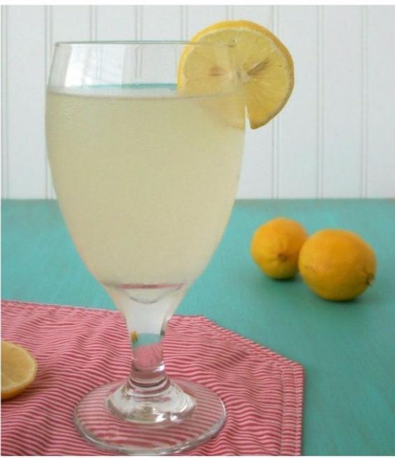 Lemon Coconut Detox Water