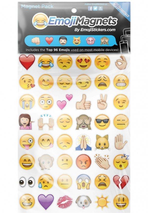 Emoji Magnets…