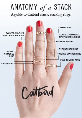 7 How To Wear Stacking Rings How To Put Together An