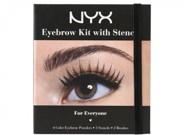 NYX Cosmetics, eyebrow, brown, eyelash, eye,