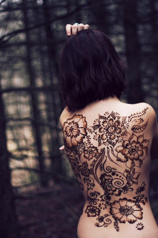 Cute Henna Tattoo Designs: 7 Cute Henna Designs You'll Want To Try ... Inspiration