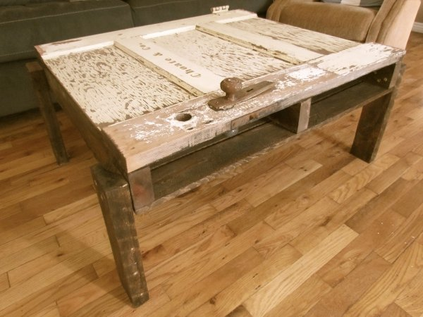 build your own solid wood rustic coffee table ana white