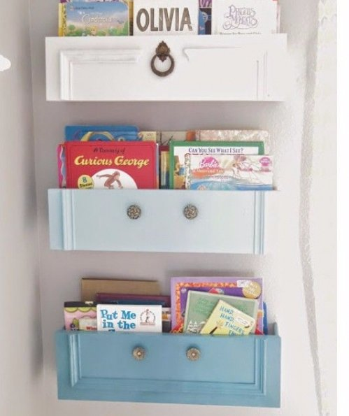 Recycle Old Dresser Drawers