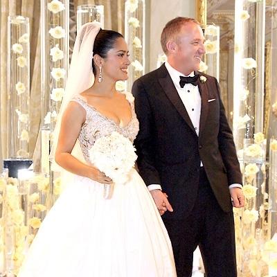 5. Salma Hayek and Francois-Henri Pinault - 25 Most Expensive… Catherine Zeta Jones Hispanic