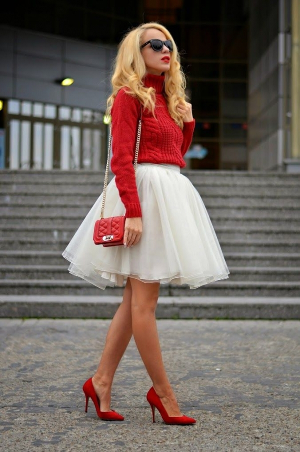 Red and White - 25 Flirty First Date Outfits to Set the