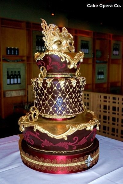 This Cake Just Screams Wealth and Luxury
