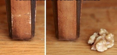 If You Rub a Walnut on Damaged Furniture, It Will Cover up the Dings