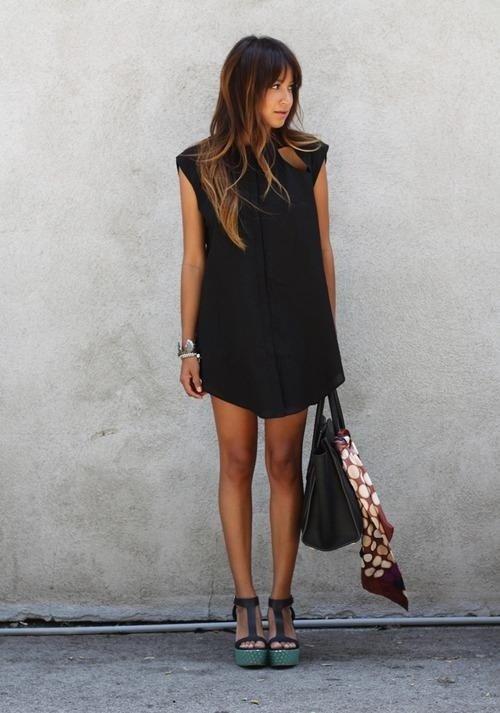clothing,black,sleeve,dress,footwear,