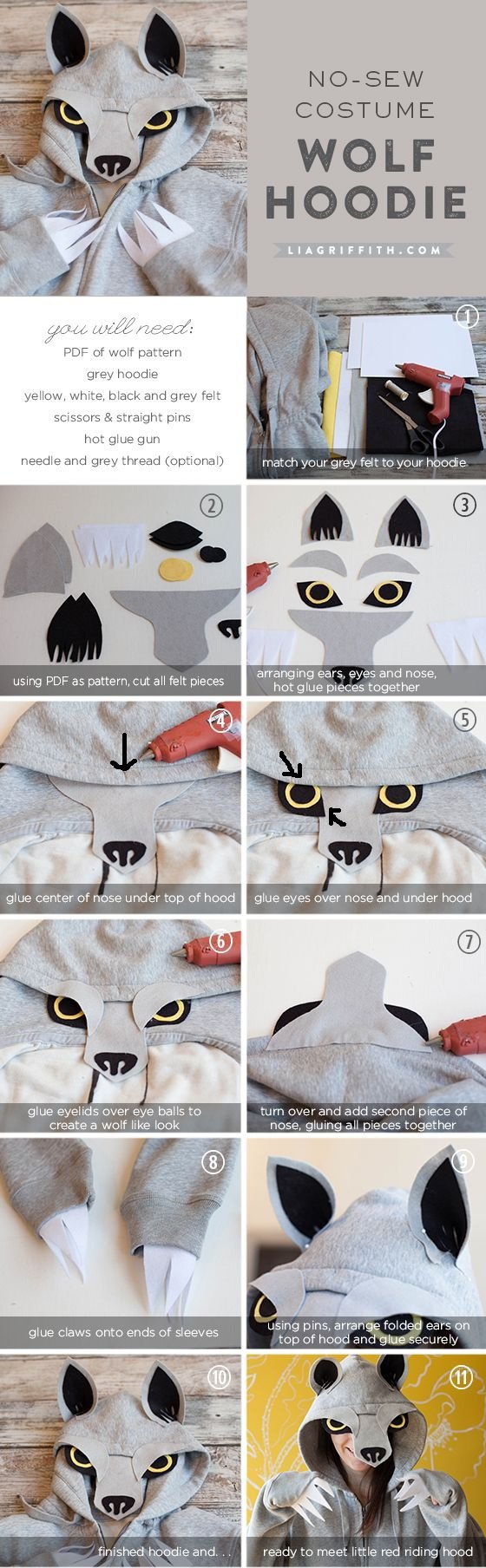 The Wolfie (a Wolf Hoodie)