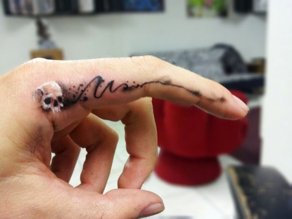 How about a Finger Tatoo