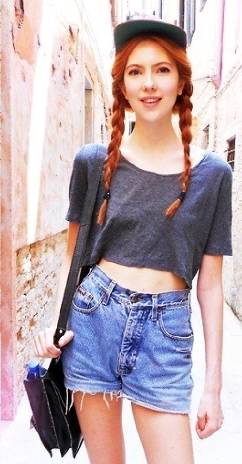 Awesome 2 Pigtails 9 Hairstyles That Look Cute Under A Baseball Cap Short Hairstyles For Black Women Fulllsitofus