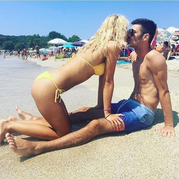 hair, clothing, sun tanning, human positions, swimwear,
