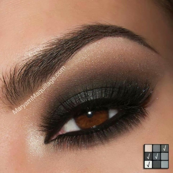 2 smokey eye for brown eyes 42 gorgeous eye makeup. Black Bedroom Furniture Sets. Home Design Ideas