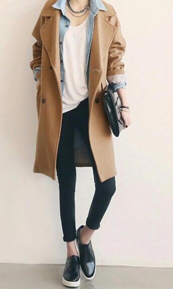 Wear underneath a Long Coat