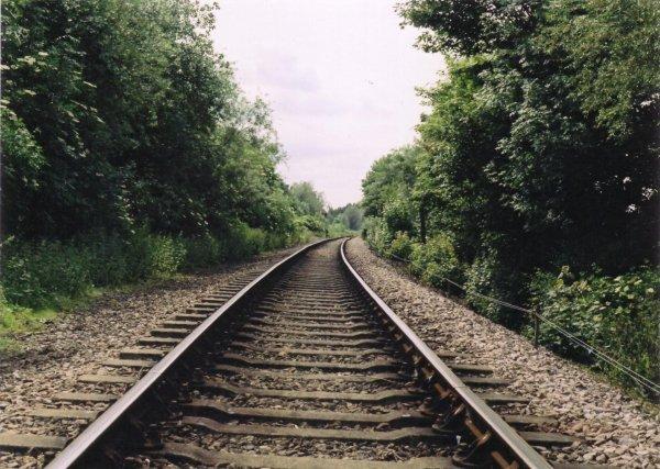 NEVER Ever Ever Shoot on Train Tracks