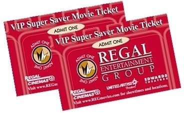 Movie or Concert Tickets