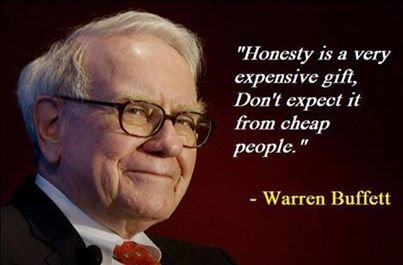 Honesty 7 Quotes From Warren Buffett That Will Teach You