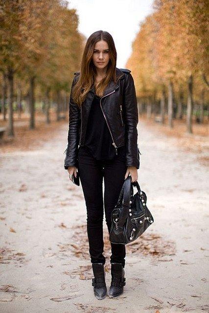 Rocker Chic 7 Streetstyle Ways To Rock An All Black