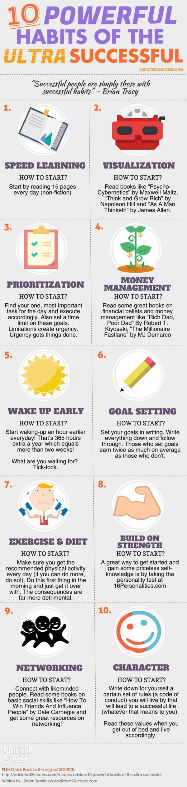 10 Powerful Habits of the Ultra Successful