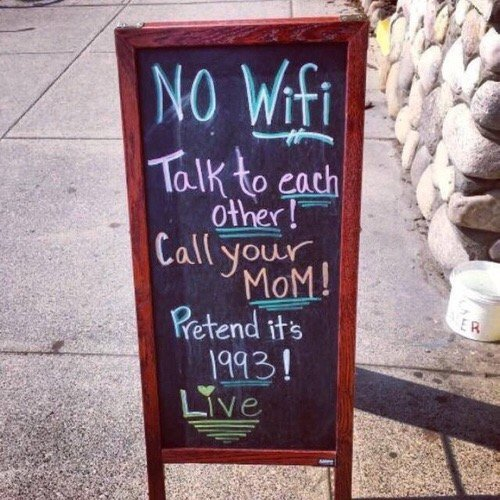 sign, signage, Wifi, Talk, eath,