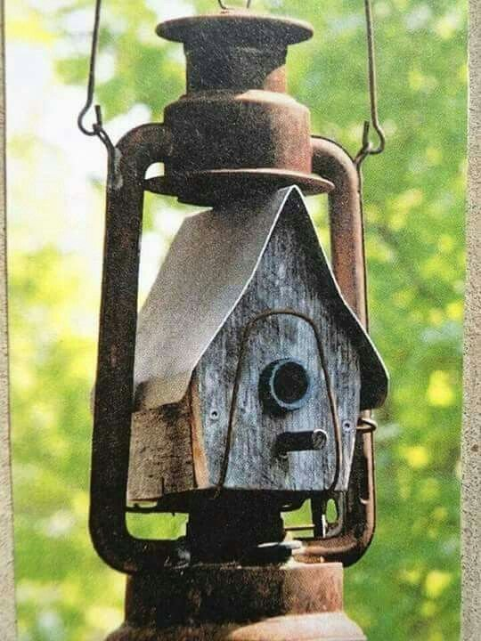 Clever Repurposing Makes A Unique And Rustic Birdhouse Diy