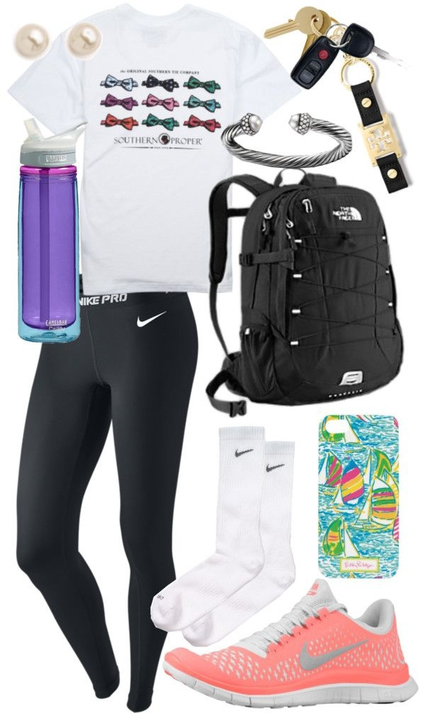 3. Gym Day! - Have You Planned Your Back to School Outfit Yet?